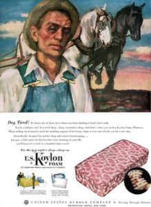 Vintage Koylon Rubber Mattress