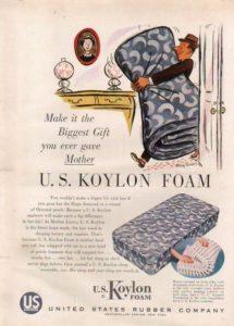 Vintage Latex Mattress Ad